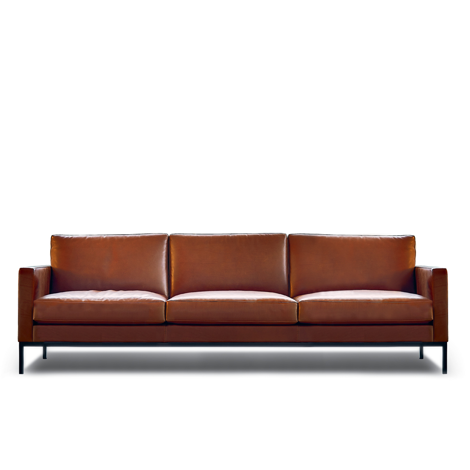 Knoll Leather Sofa Florence Knoll Sofa Design Within Reach Thesofa