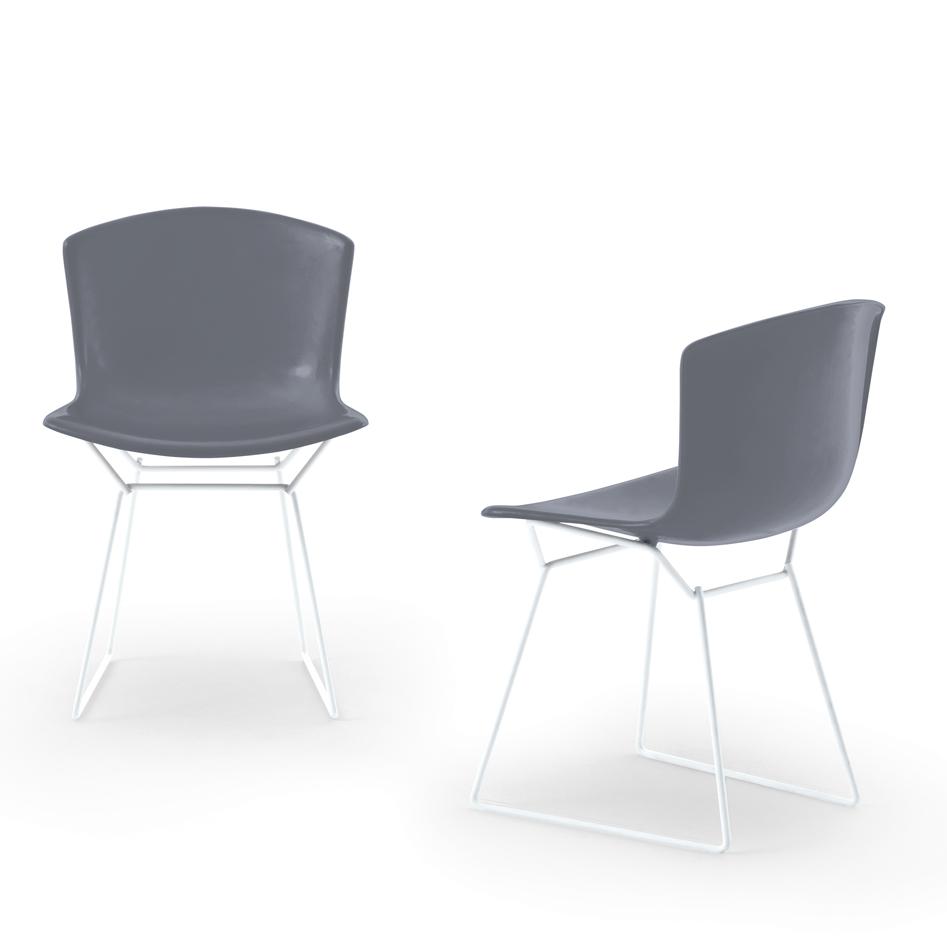 bertoia plastic side chair outdoor knoll