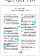 8 quick tips for successful workplace surveys workplace research