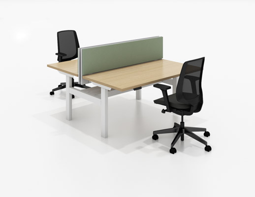 k. bench workplace systems furniture benching height adjustable desks k. collection k. task