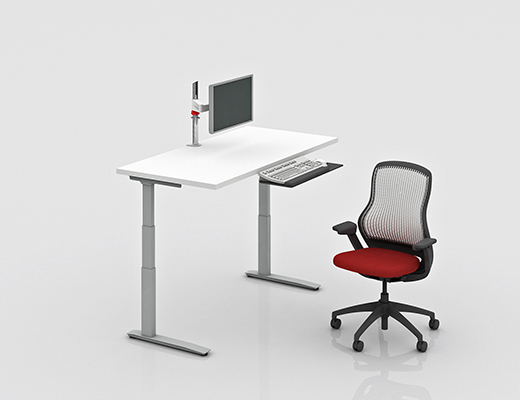 Universal Height Adjustable Tables Knoll