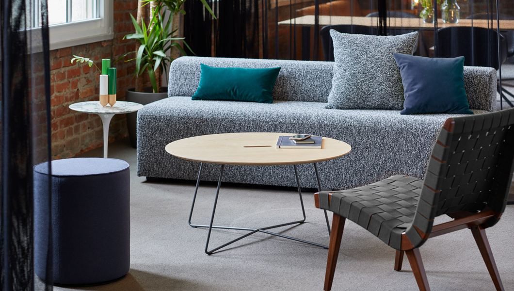 Knoll Shared Spaces Enclave Risom Rockwell Unscripted Muuto