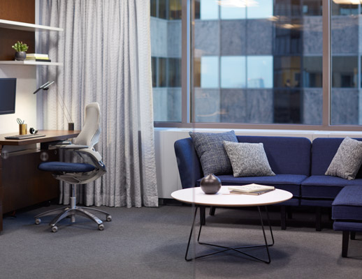 reff profiles private office Generation by knoll occasional coffee table rockwell unscripted modular lounge