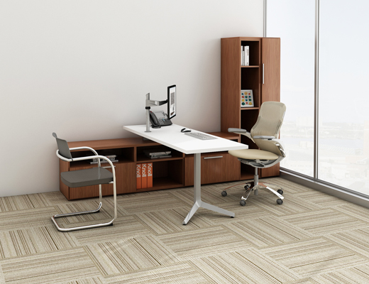 Knoll Anchor storage with Dividends Horizon table
