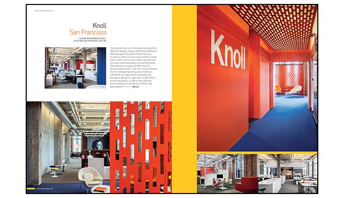 Knoll San Francisco Featured In Interior Design Magazine S