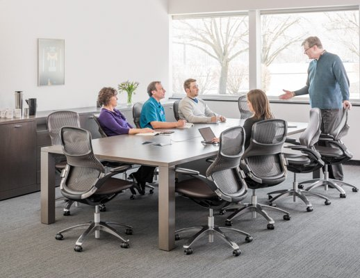 Reff Profiles MeetingTables Knoll - Conference table cubby