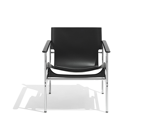 Knoll Leather Pollock Sling Chair