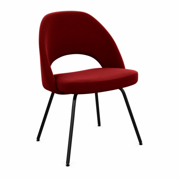 Saarinen Executive Chair - Armless with Tubular Legs