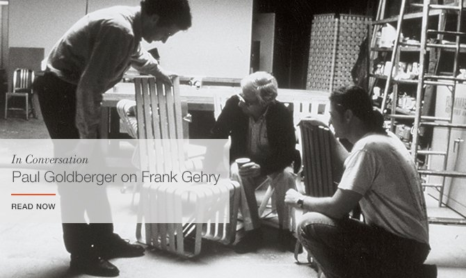 In Conversation with Paul Goldberger on Frank Gehry