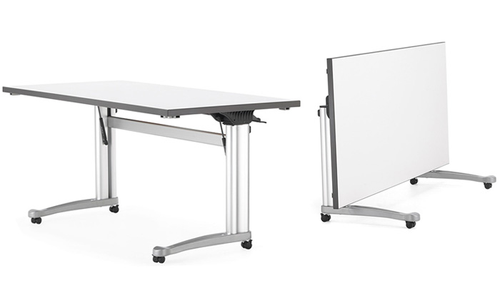 High 4 Leg Table; Folding C Leg Desk