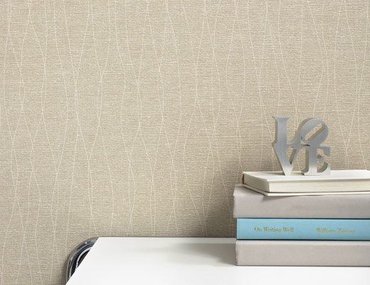 Shortwave Wallcovering by KnollTextiles