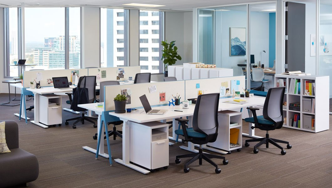 Open Plan Workstation Planning And Design Knoll