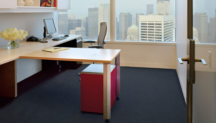 AutoStrada® office with Life® Task Chair and Calibre® Mobile Pedestals