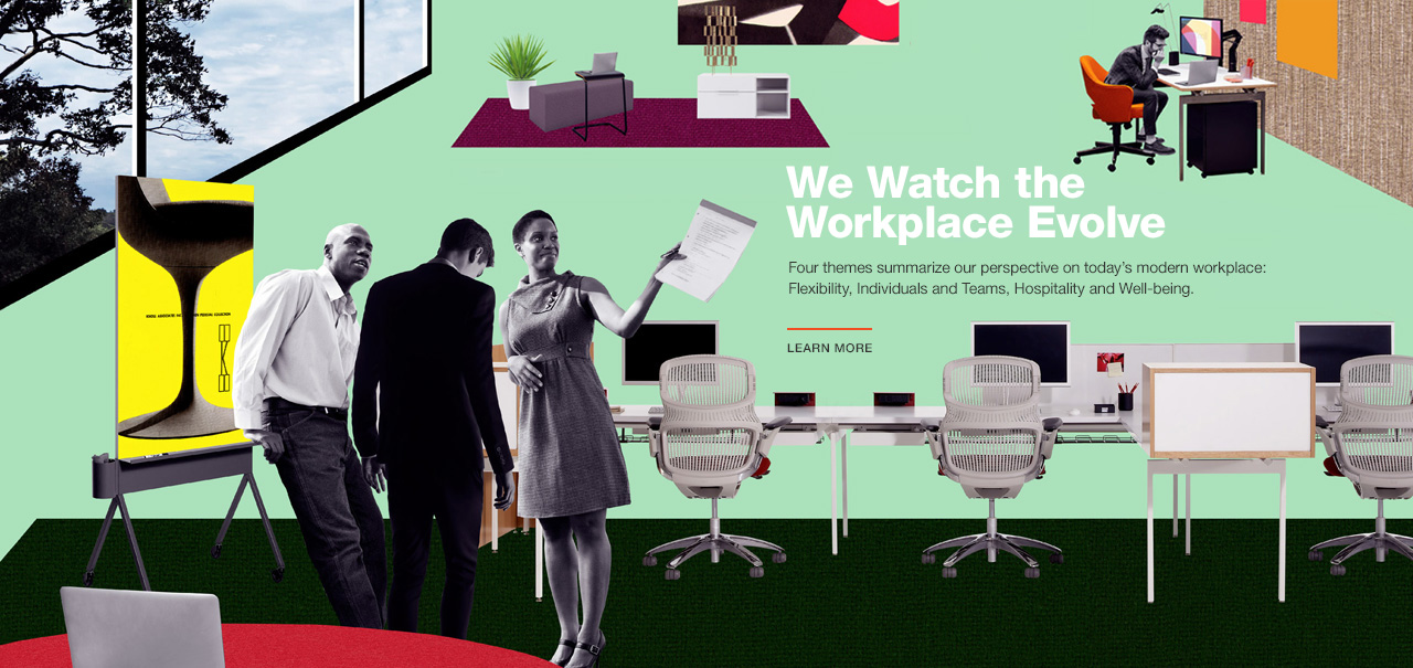 Four Themes for the Evolving Workplace