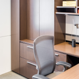 Reff Profiles private office NeoCon 2015 showroom Life chair Sparrow lighting LED