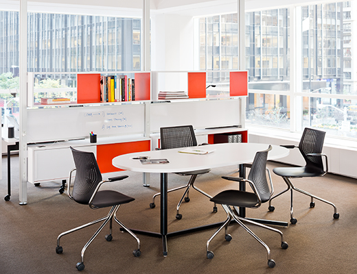 Knoll Open Plan Activity Spaces