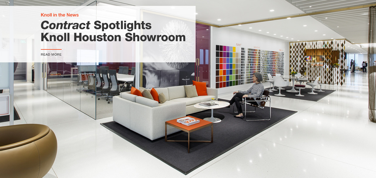 Contract Highlights Knoll Houston Showroom