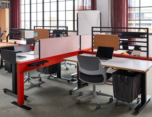 knoll design days fulton market antenna workspaces power beam ollo by glen oliver loew rockwell unscripted soft storage workstation screen storage ladder k. stand on casters
