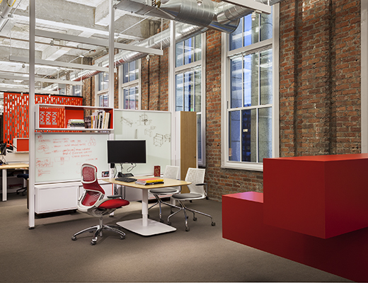 Knoll San Francisco Showroom Activity Spaces