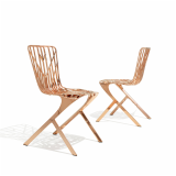 KnollStudio Copper Washington Skeleton Chair