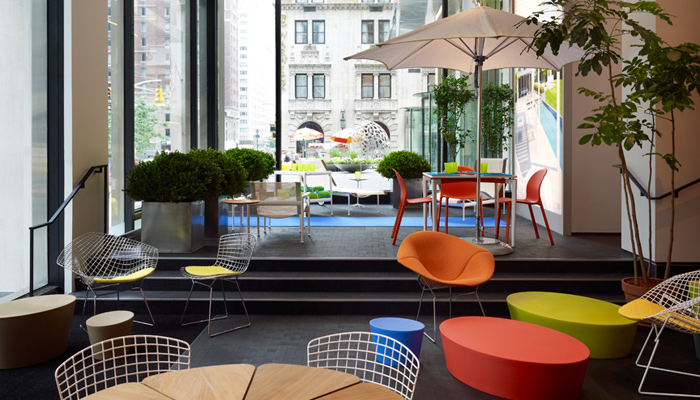 Knoll Opens First Retail Store in North America  Features Emejing Home Design Shop Pictures Interior Ideas