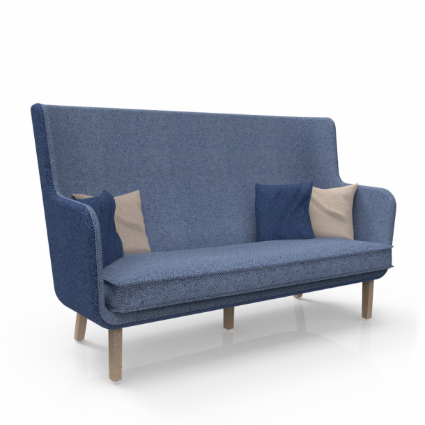 Rockwell Unscripted<sup>®</sup> High Back Settee