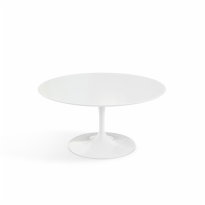 Shop Modern Side End Coffee Tables Knoll - Saarinen low oval coffee table