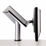 Knoll Silver Sapper XYZ Monitor Arm