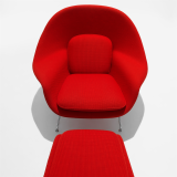 Saarinen Womb Chair in Cato Red KnollTextiles