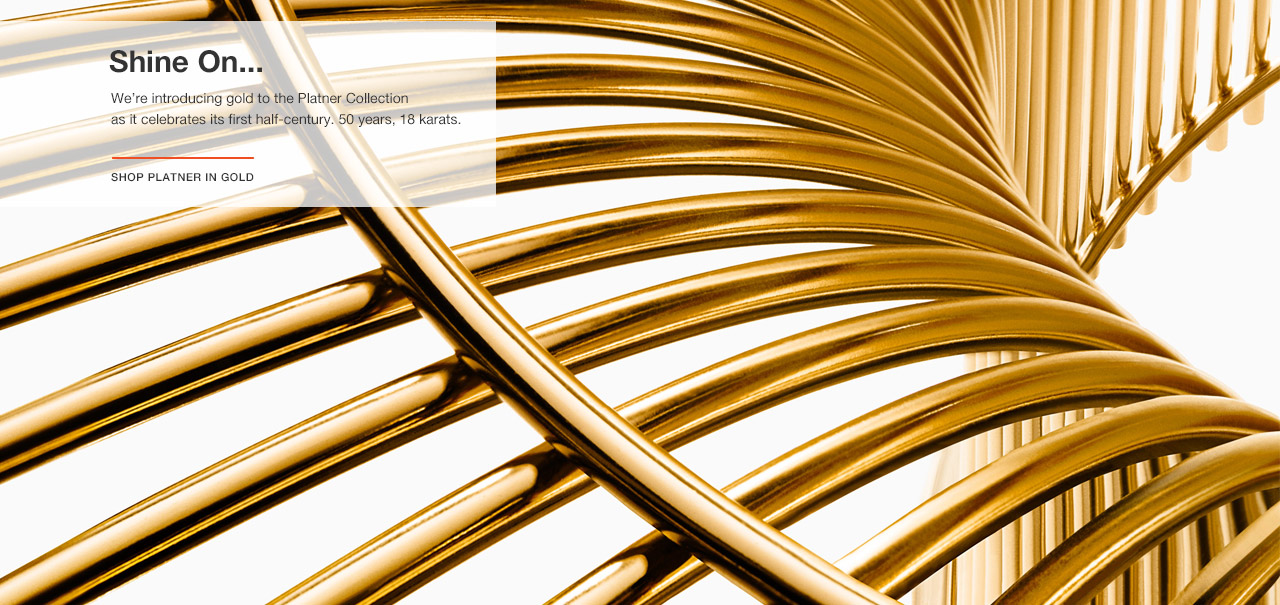 Introducing the Platner Collection in 18k Gold