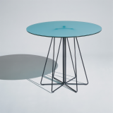 Knoll Vignelli Associates Paper Clip Cafe Table