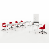 training neocon training table education scribe mobile markerboard marc krusin pixel c leg pixel t leg flip top reconfigurable saarinen executive armless chair casters