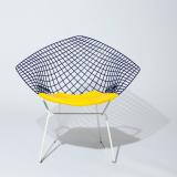 Harry Bertoia Diamond Chair Two-Tone