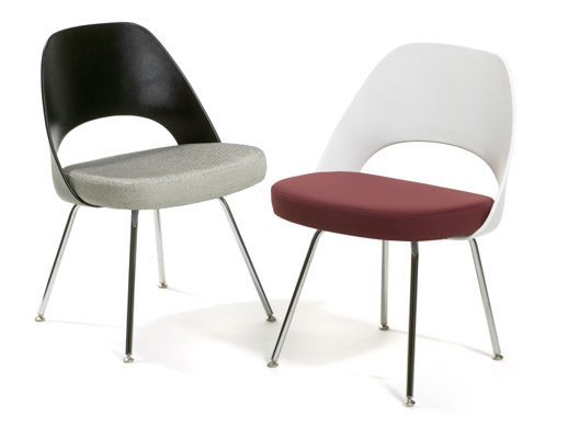 Saarinen Executive Chairs with Plastic Back