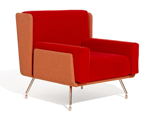 Architecture & Associés Red Sofa Chair