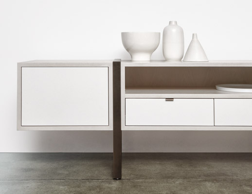 DatesWeiser Highline Two High Credenza