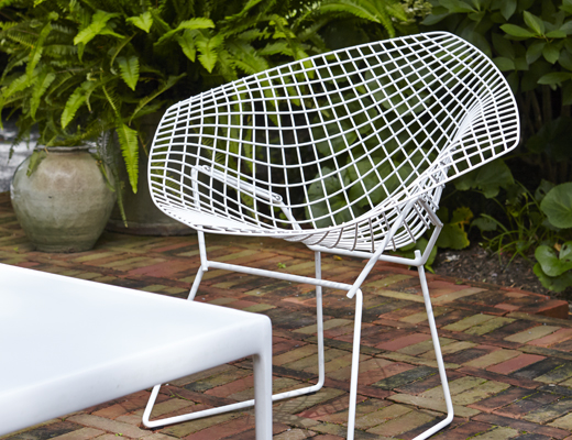 Knoll Harry Bertoia Diamond Chair