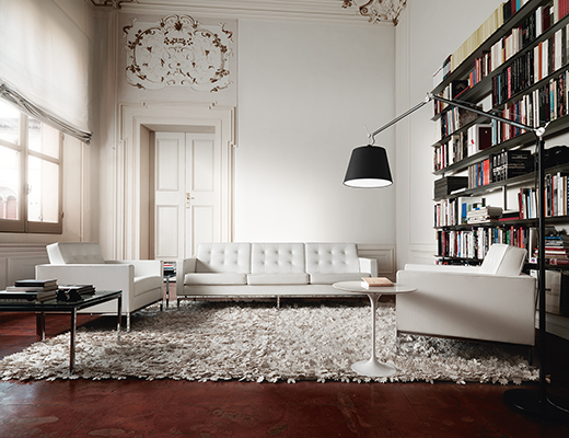 Knoll Florence Knoll Sofa and Lounge Chairs