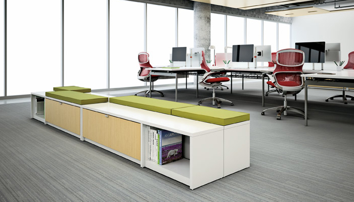 Dividends Horizon® Credenza and Antenna® Workspaces