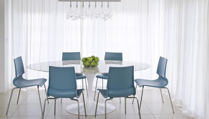 Christina Yorkston Saarinen Table Gigi Chairs