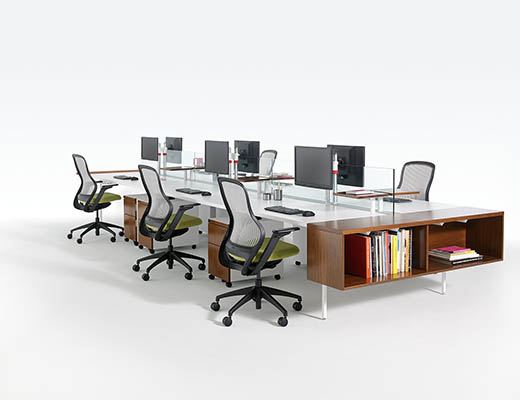 ... Knoll Antenna Workspaces Big Table ...