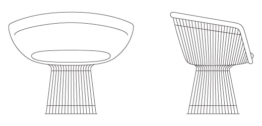 Platner Lounge Chair | Knoll