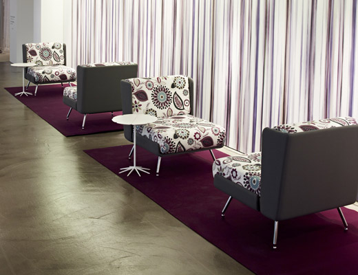 Lounge Collection by Pierre Beucler and Jean-Christophe Poggioli in Kamani upholstery