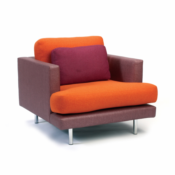 D'Urso Contract Lounge Chair