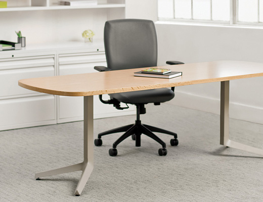 Knoll Dividends Horizon Y-Leg Table