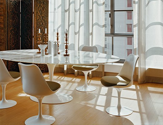 Tavolo Tulip Knoll.Saarinen Dining Table Oval Knoll
