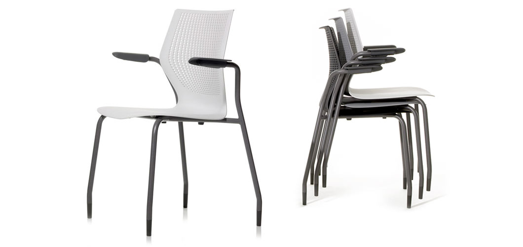 promo code 54699 97c8e MultiGeneration by Knoll® Stacking Base Ergonomic Side Chair