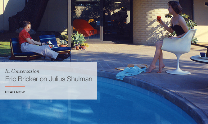 In Conversation with Eric Bricker on Julius Shulman
