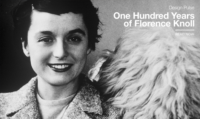 One Hundred Years of Florence Knoll