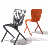 Washington Skeleton and Washington Skin Chairs by David Adjaye